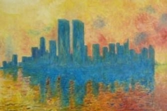 Twin-Towers-30x40-olie